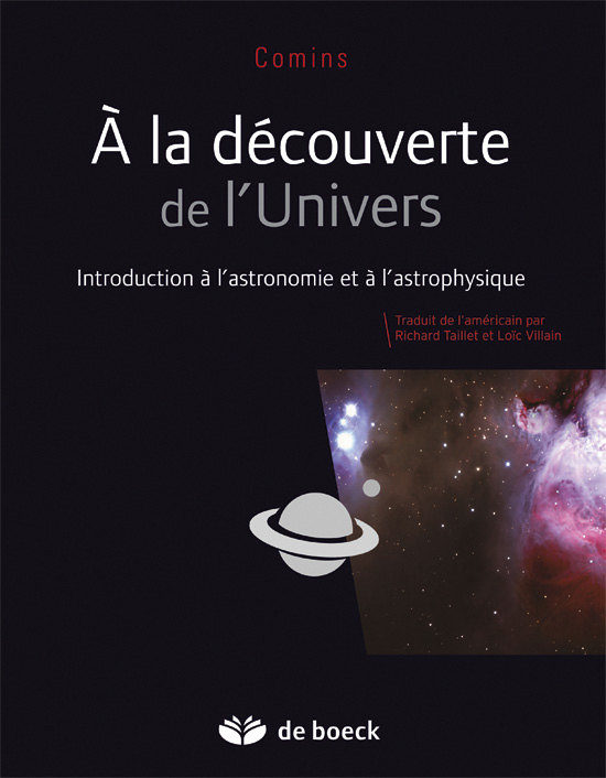 A LA DECOUVERTE DE L'UNIVERS