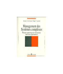 MANAGEMENT DES SYSTEMES COMPLEXES PENSEE SYSTEMIQUE ET INTERV.DS ORGANISAT