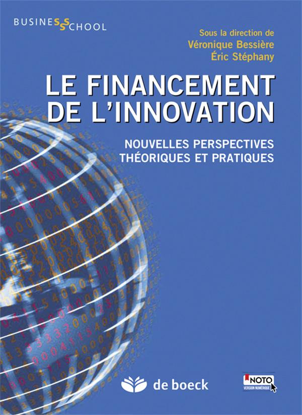 FINANCEMENT DE L'INNOVATION (LE)