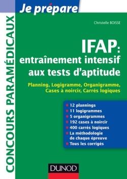 IFAP : ENTRAINEMENT INTENSIF AUX TESTS D'APTITUDE - PLANNING, LOGIGRAMME, ORGANIGRAMME