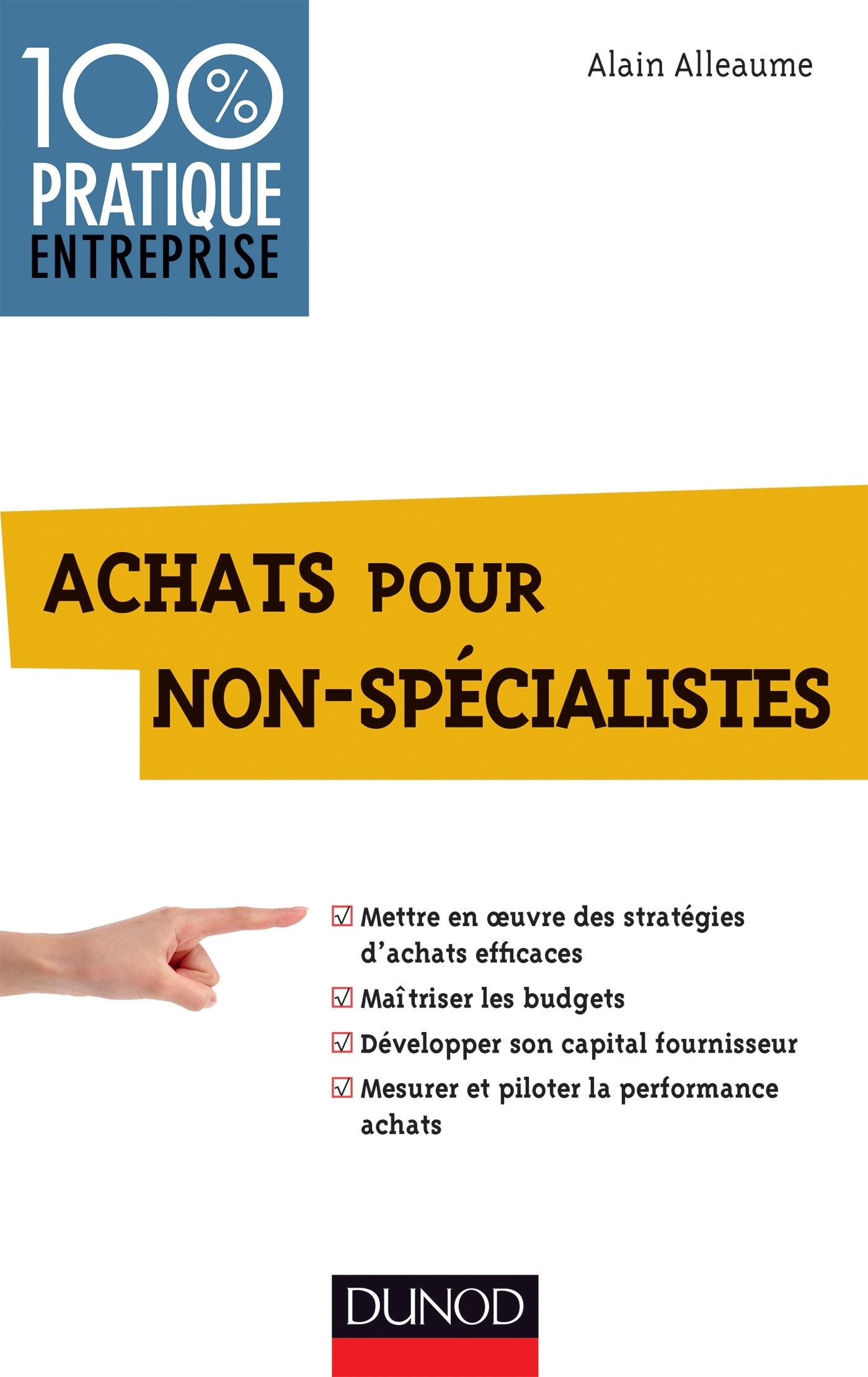 ACHATS POUR NON-SPECIALISTES - PRIX CDAF (COMPAGNIE DES DIRIGEANTS ET ACHETEURS DE FRANCE) 2013
