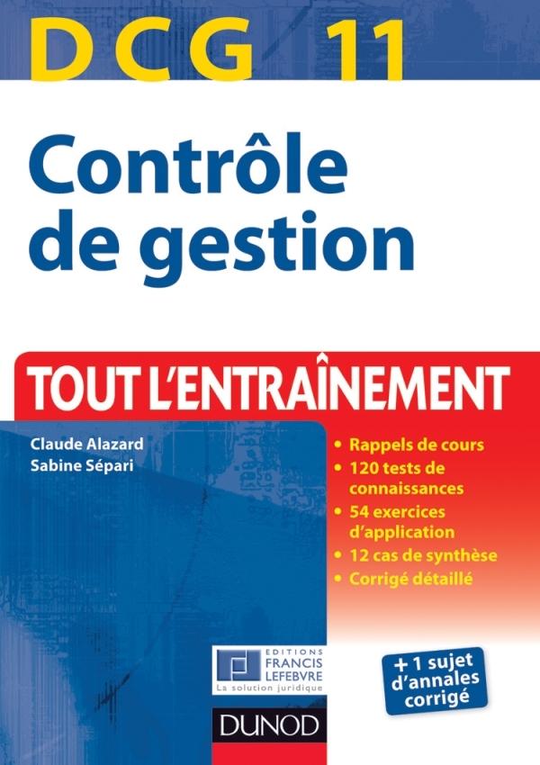 DCG 11 - CONTROLE DE GESTION - 2E EDITION - TOUT L'ENTRAINEMENT
