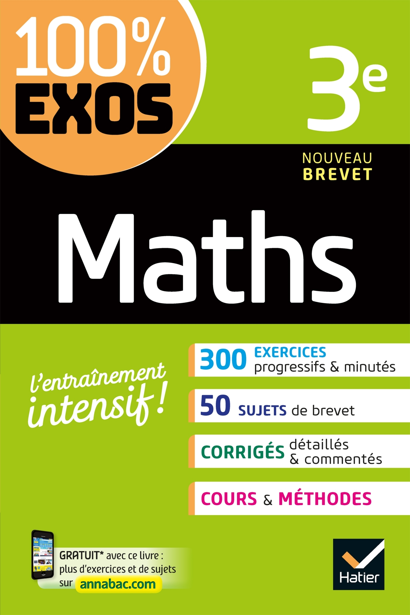100 % EXOS - 13 - MATHS 3E - EXERCICES RESOLUS
