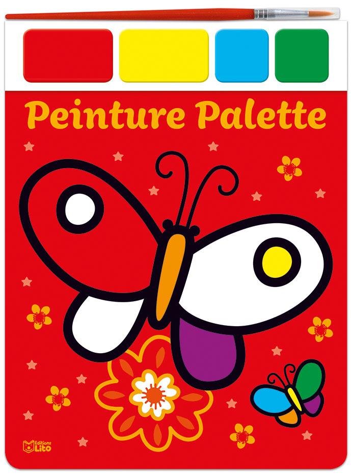 PEINTURE PALETTE - LE PAPILLON