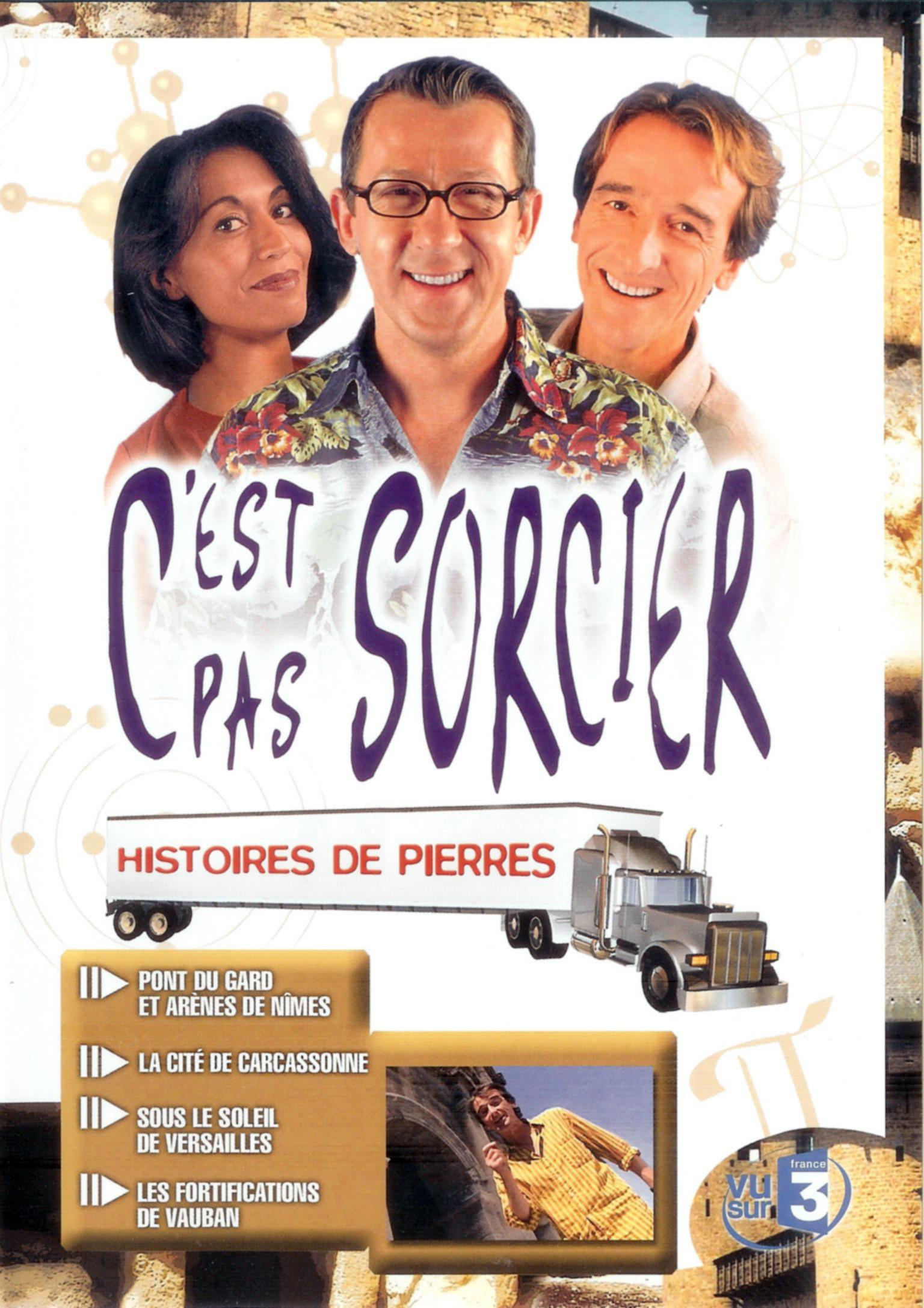 C'EST PAS SORCIER - HISTOIRES DE PIERRES