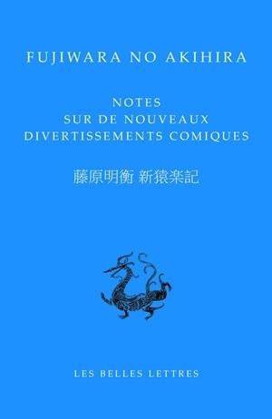 NOTES SUR DE NOUVEAUX DIVERTISSEMENTS COMIQUES