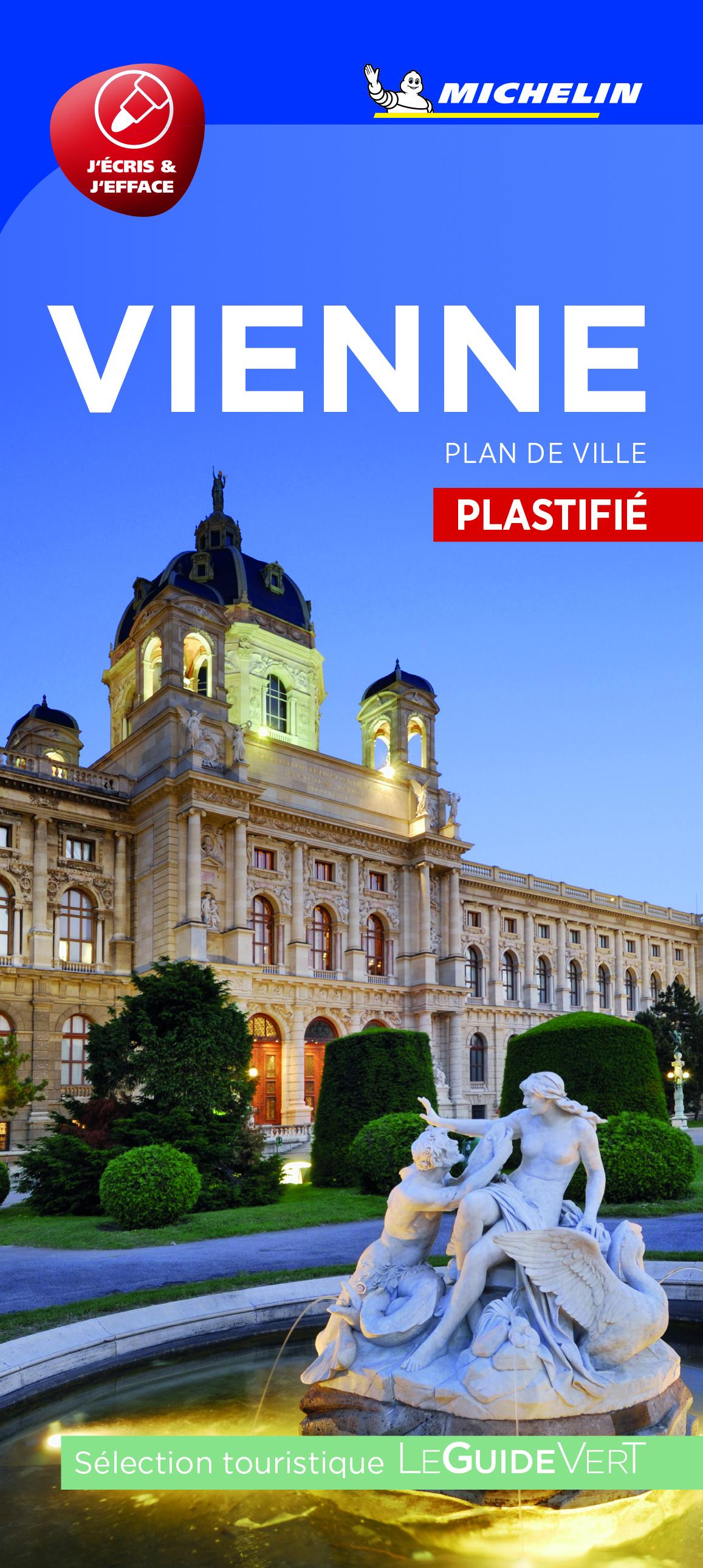 VIENNE - PLAN DE VILLE PLASTIFIE
