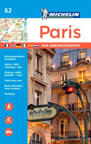 PARIS PAR ARRONDISSEMENT - PLAN ATLAS (AGRAFE)
