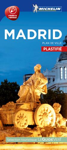 MADRID - PLAN DE VILLE PLASTIFIE