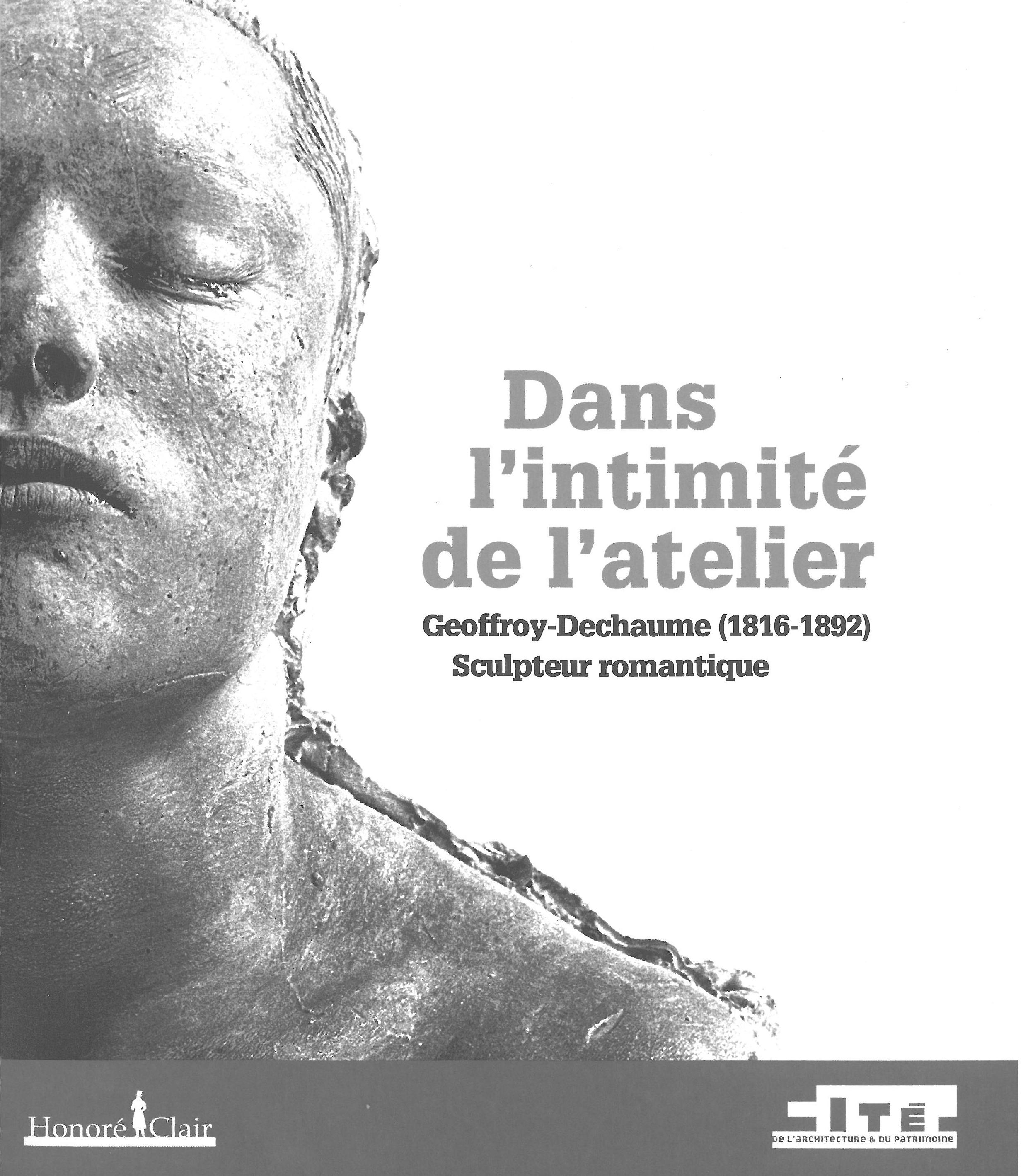 DANS L'INTIMITE DE L'ATELIER - GEOFFROY-DECHAUME