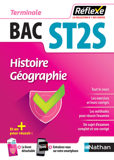 HISTOIRE-GEOGRAPHIE - TERM ST2S GUIDE REFLEXE N94 - 2018