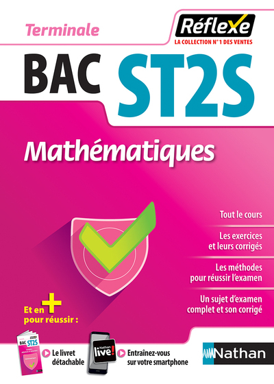 MATHEMATIQUES - TERMINALE ST2S (GUIDE REFLEXE N  8) - 2018