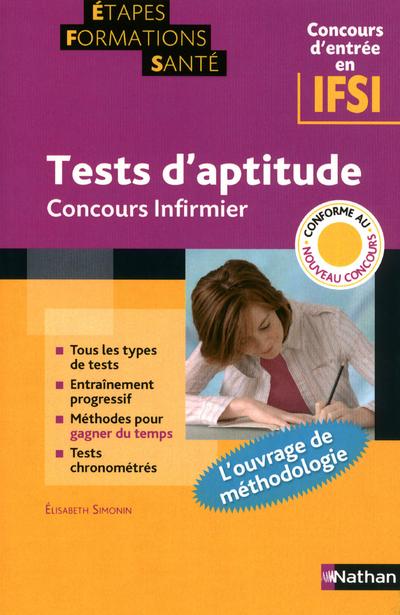 TESTS APTITUDE CONC INFIRMIER