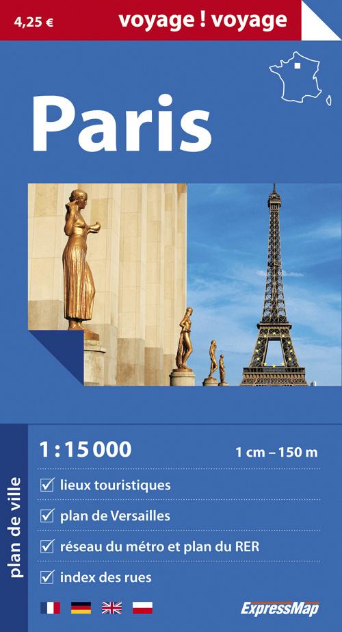 PARIS  1/15.000 (VOYAGE !VOYAGE)