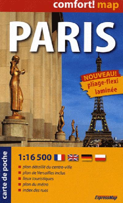 PARIS (FR) 1/16.500 (COMFORT !MAP, POCHE)