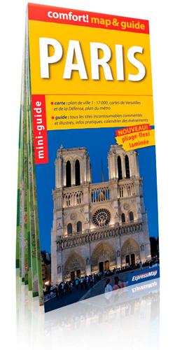 PARIS (COMFORT !MAP&GUIDE, CARTE LAMINEE)