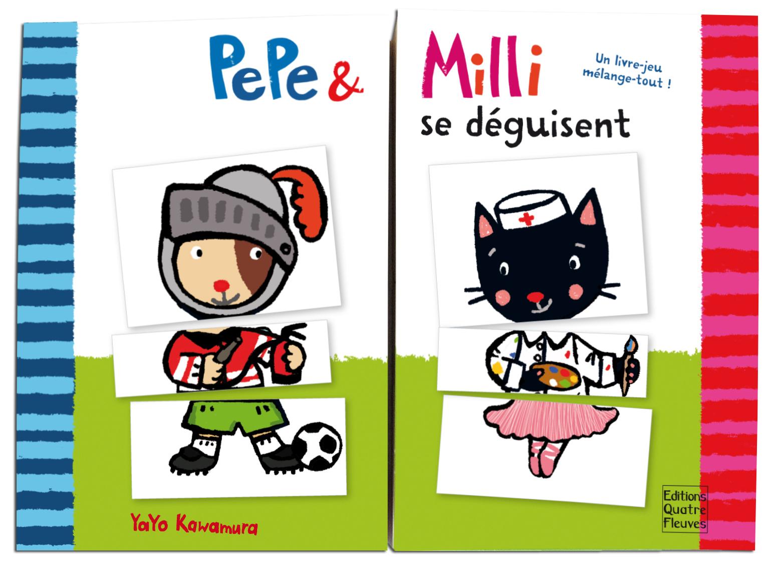 PEPE & MILLI SE DEGUISENT