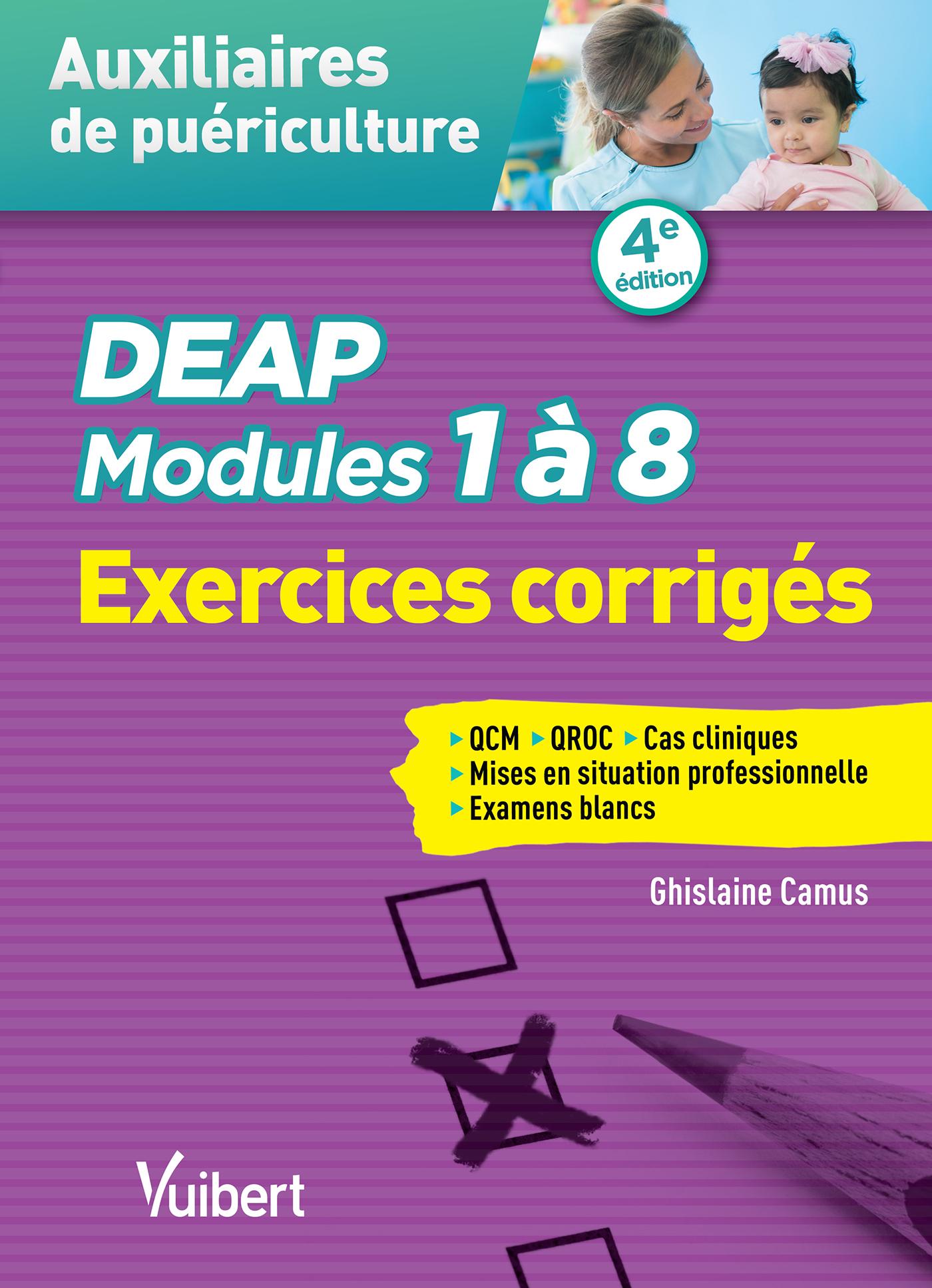 DEAP MODULES 1 A 8 EXERCICES CORRIGES 4E EDT
