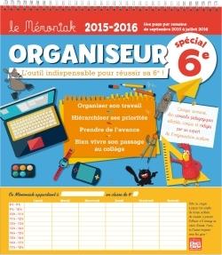 ORGANISEUR MEMONIAK SPECIAL 6E 2015-2016