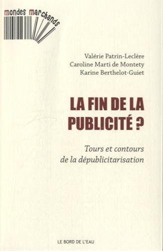 FIN DE LA PUBLICITE ?
