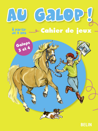 CAHIER DE JEUX 9/11 ANS GALOPS 3-4