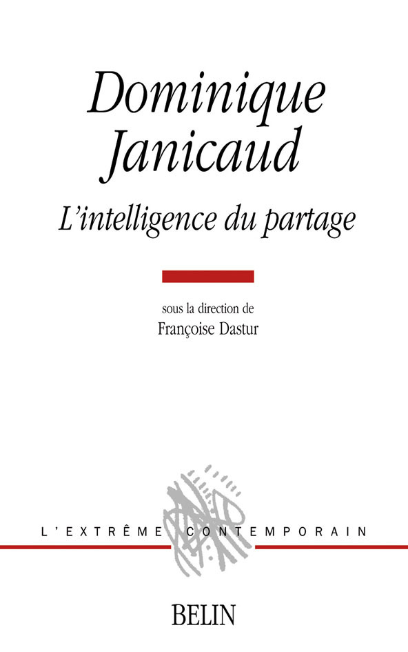 JANICAUD: INTELLIGENCE PARTAGE