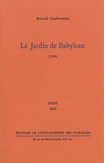 JARDIN DE BABYLONE (LE)