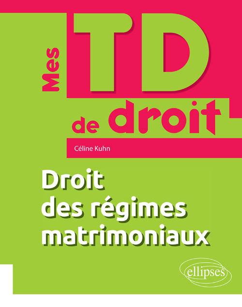 DROIT DES REGIMES MATRIMONIAUX