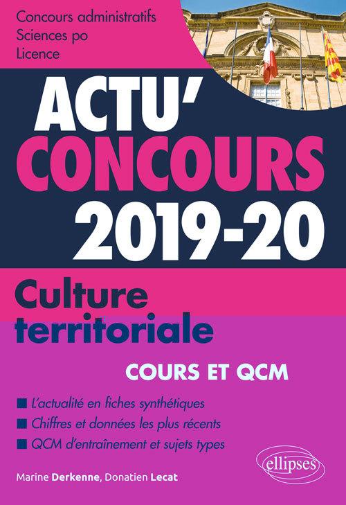 CULTURE TERRITORIALE  2019-2020 COURS ET QCM