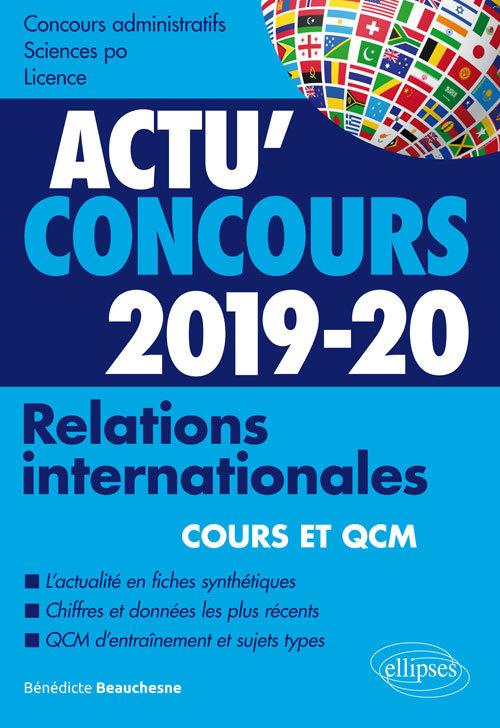 RELATIONS INTERNATIONALES 2019-2020 COURS ET QCM