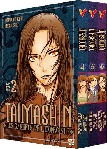 TAIMASHIN CARNETS DE L'EXORCISTE BOX 02