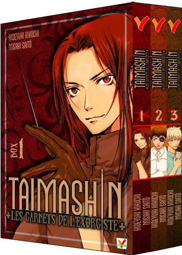 TAIMASHIN CARNETS DE L'EXORCISTE BOX 01