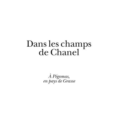 DANS LES CHAMPS DE CHANEL. COFFRET 6 OUVRAGES