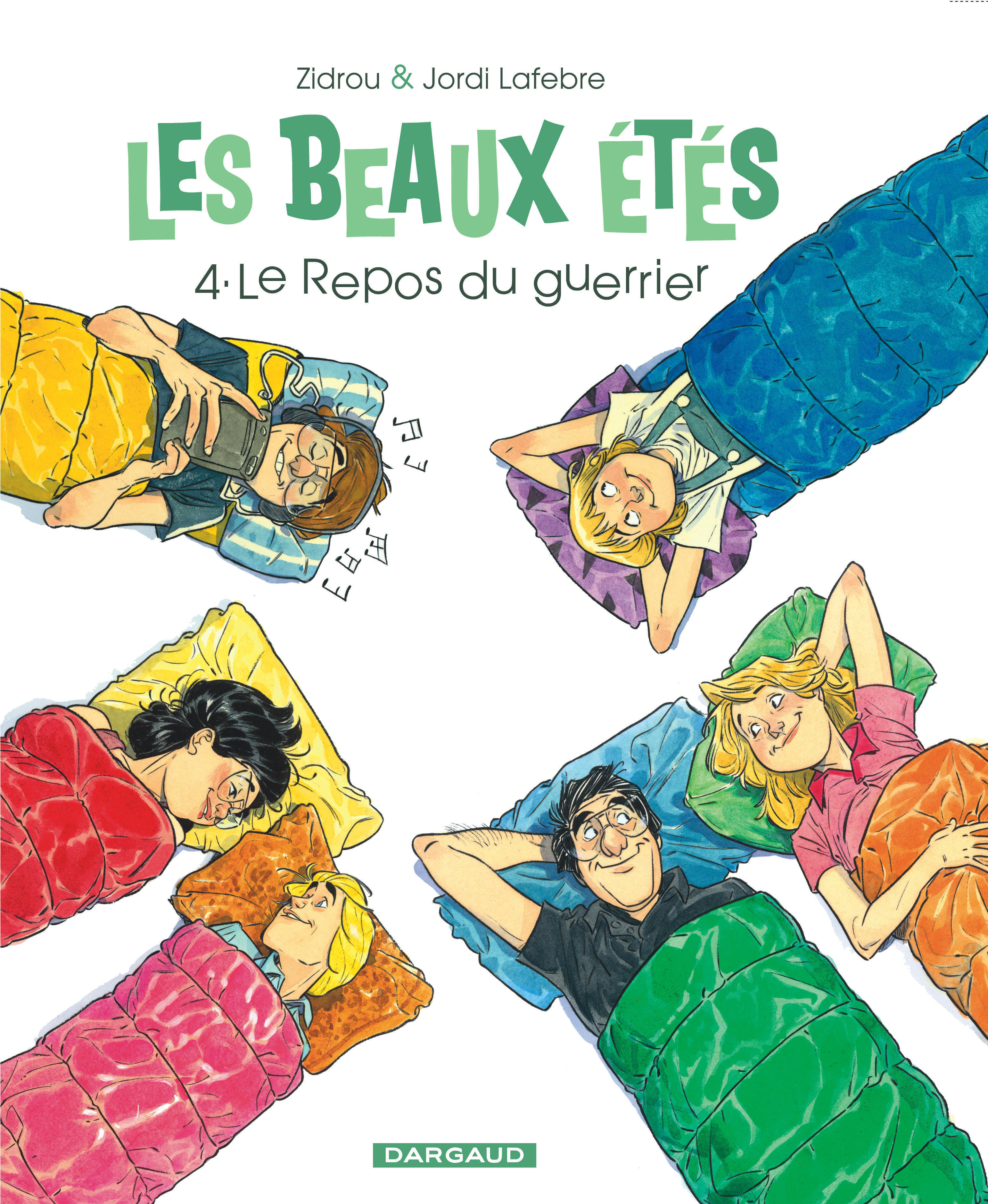 LES BEAUX ETES - LES BEAUX ETES - TOME 4 - REPOS DU GUERRIER (LE)