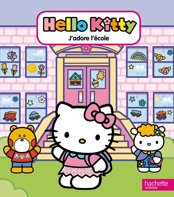 J'ADORE L'ECOLE - HELLO KITTY