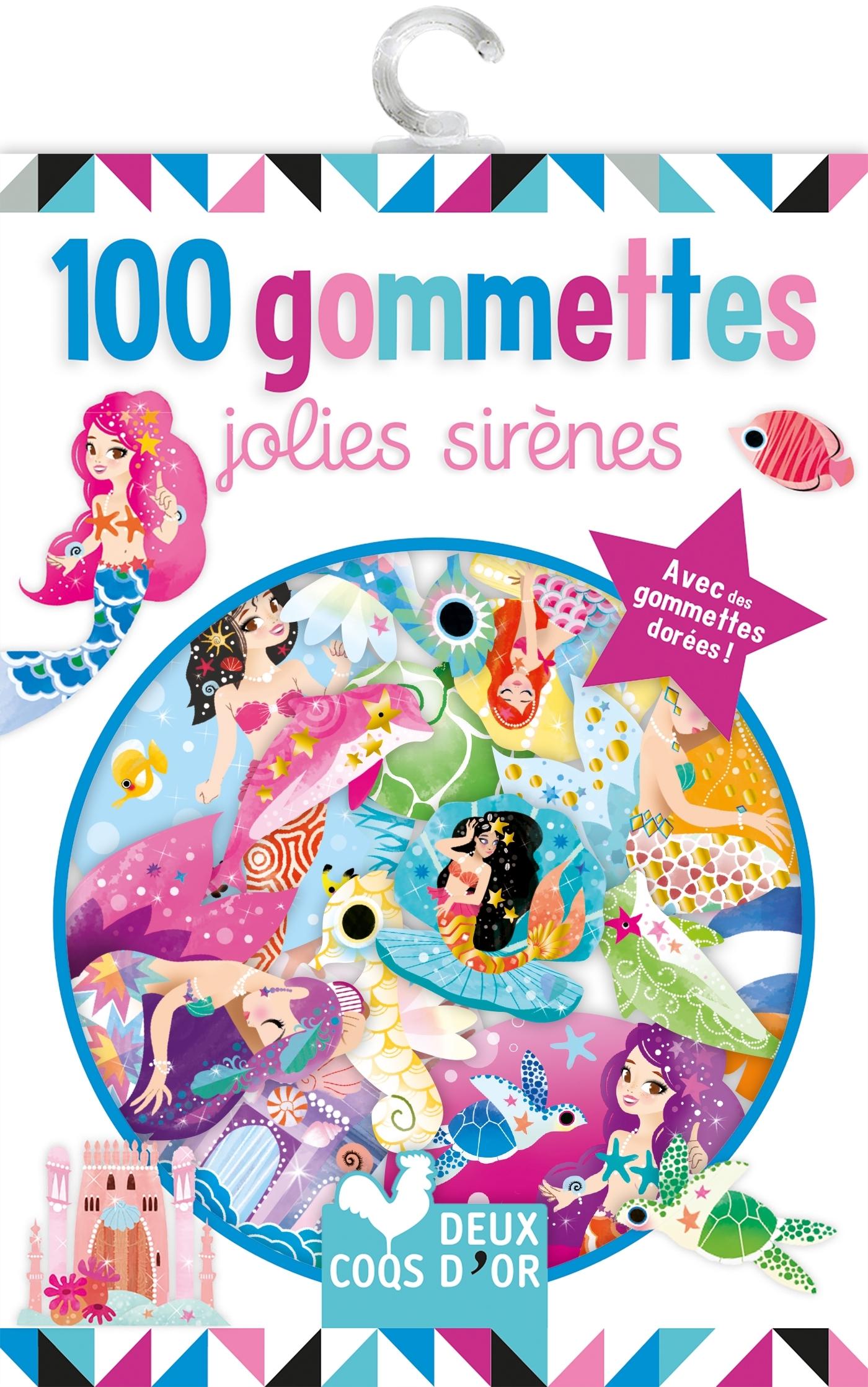 100 GOMMETTES - JOLIES SIRENES