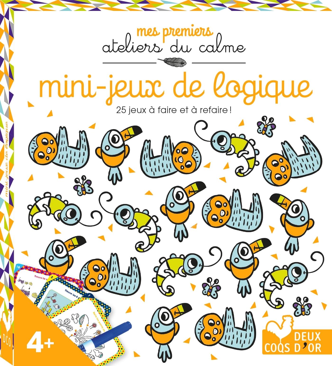 MINI-JEUX DE LOGIQUE - MINI BOITE AVEC ACCESSOIRES