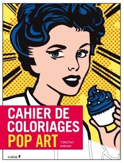 CAHIER DE COLORIAGE POP ART