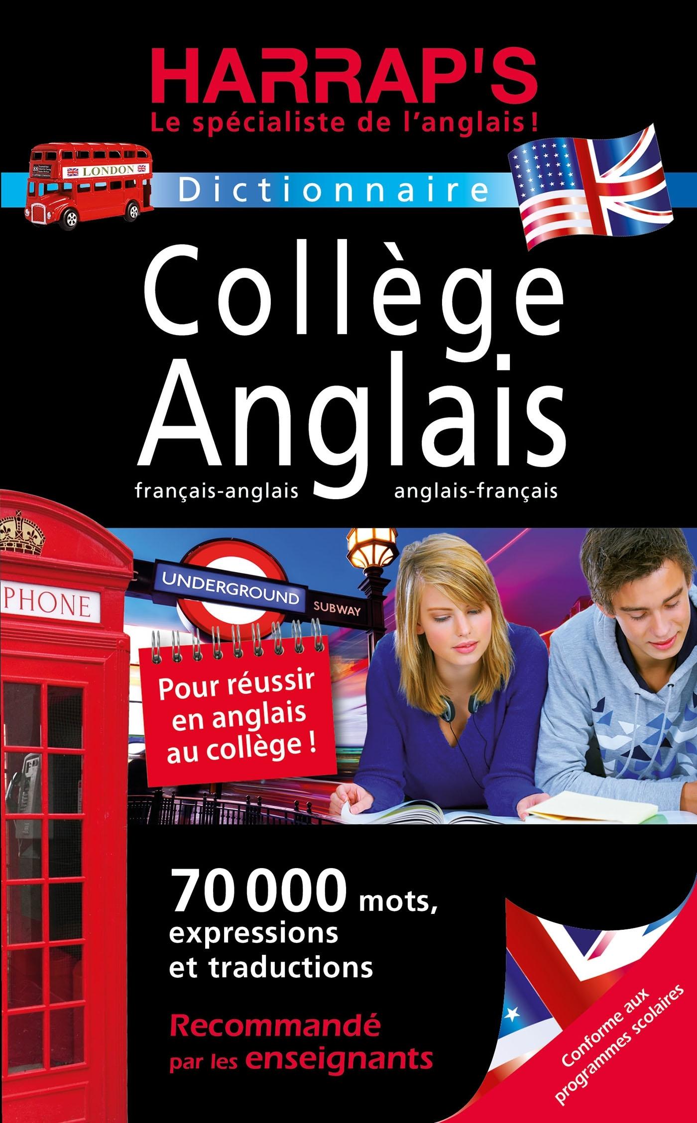 HARRAP'S COLLEGE FRANCAIS-ANGLAIS / ANGLAIS-FRANCAIS