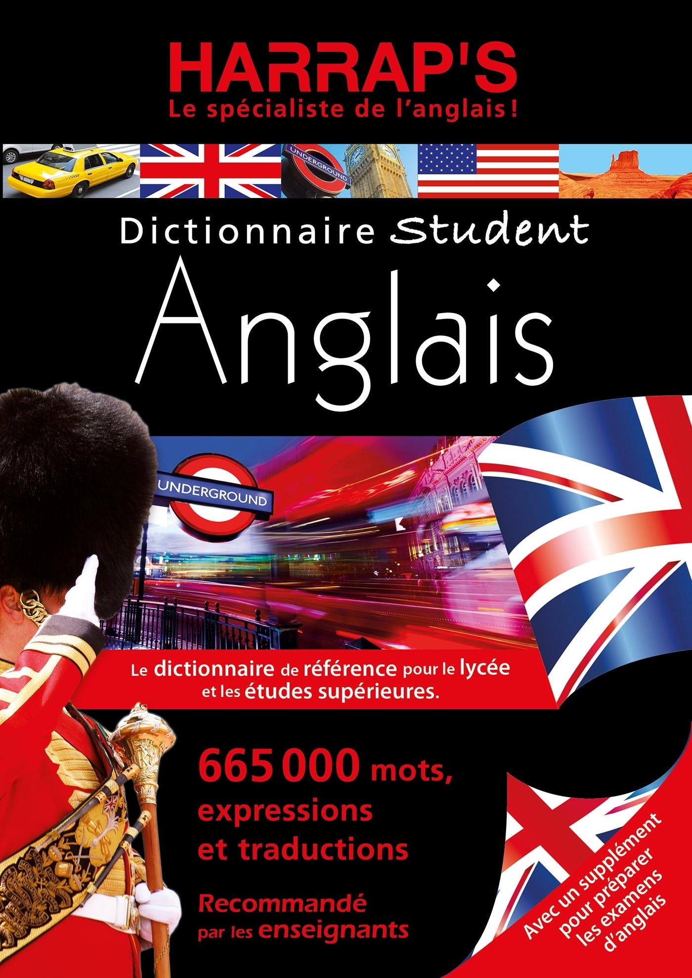 HARRAP'S DICTIONNAIRE STUDENT ANGLAIS