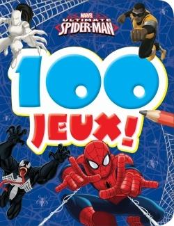 ULTIMATE SPIDERMAN, MARVEL , 100 JEUX, CARNET A COINS RONDS