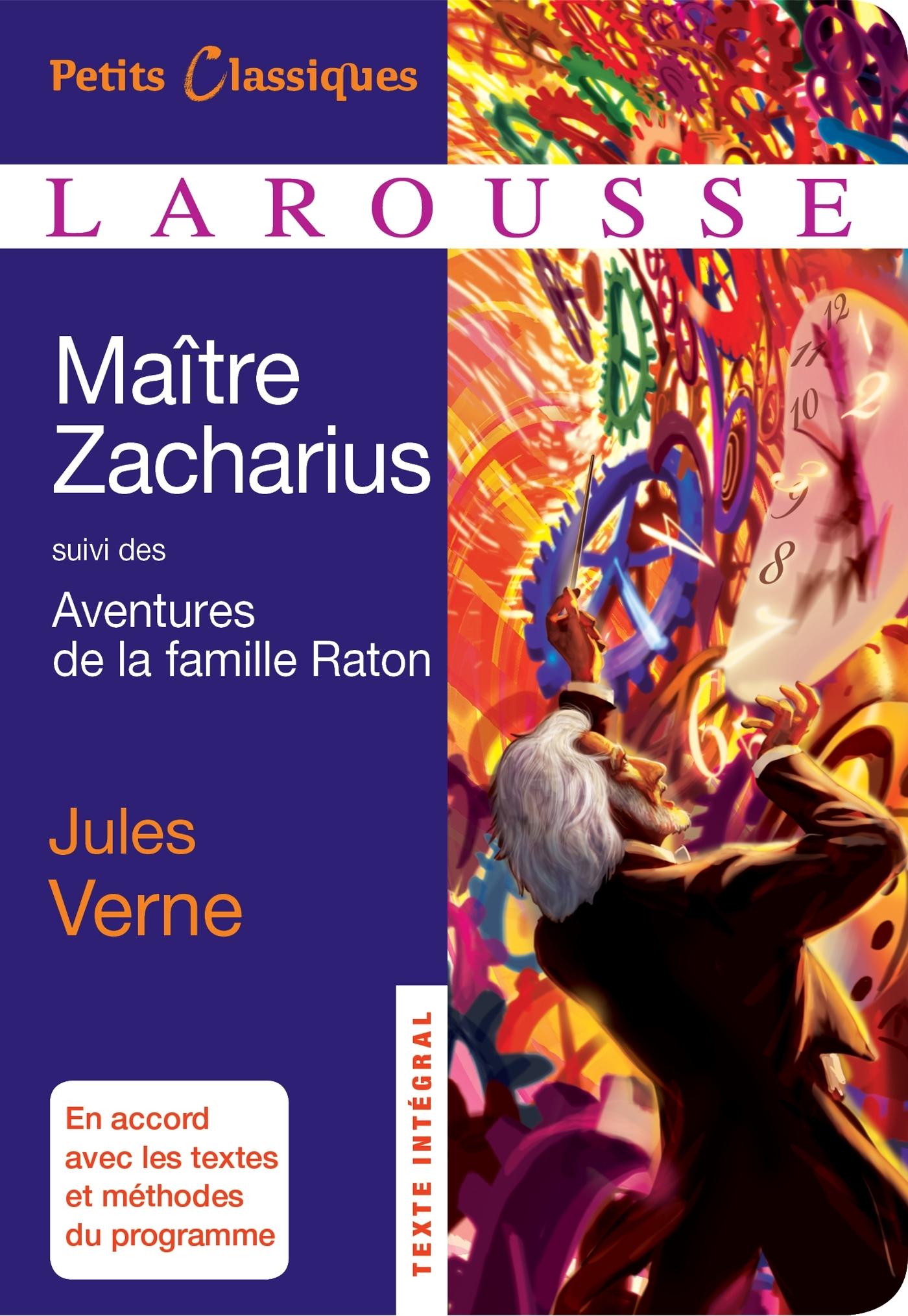 MAITRE ZACHARIUS, SUIVI DES AVENTURES DE LA FAMILLE RATON