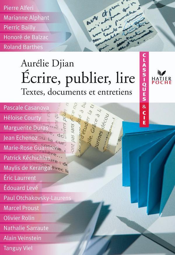 ECRIRE, PUBLIER ET LIRE