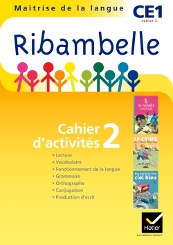 RIBAMBELLE CE1 SERIE JAUNE 2011, CAHIER D'ACTIVITES 2 NON VENDU SEUL