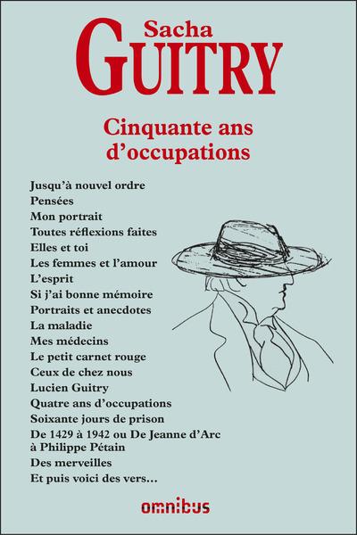 CINQUANTE ANS D'OCCUPATIONS