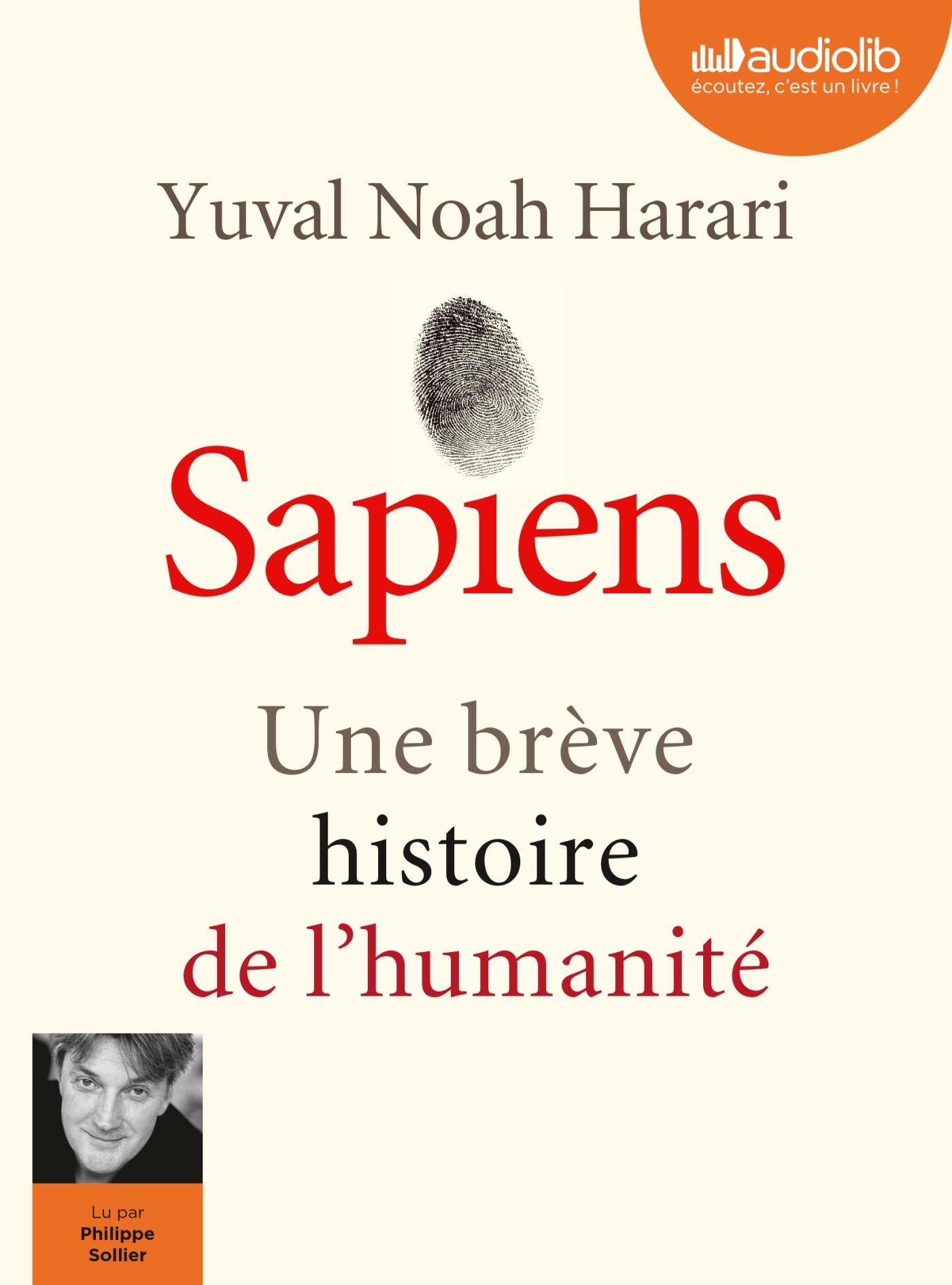 SAPIENS - UNE BREVE HISTOIRE DE L'HUMANITE