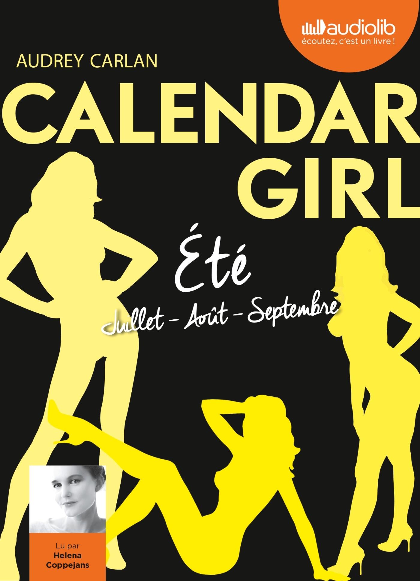 CALENDAR GIRL 3 - ETE (JUILLET, AOUT, SEPTEMBRE)