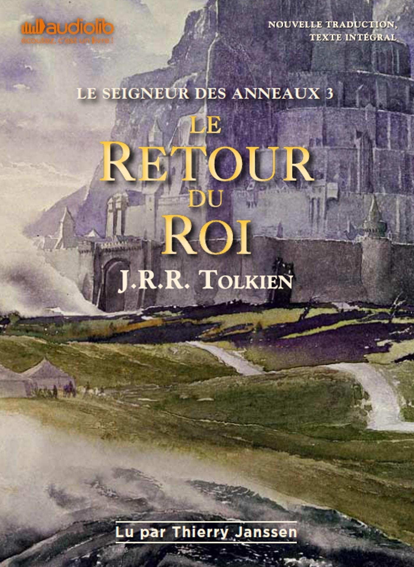 LE SEIGNEUR DES ANNEAUX 3 - LE RETOUR DU ROI - LIVRE AUDIO 2CD MP3