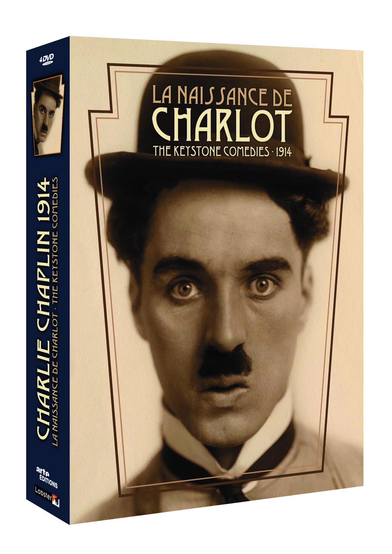 KEYSTONE LA NAISSANCE DE CHARLOT - 4 DVD