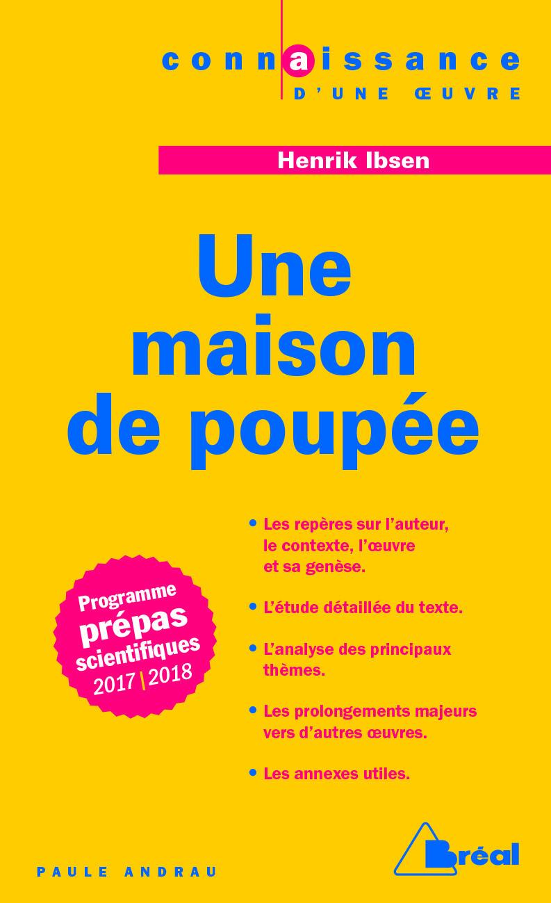 MAISON DE POUPEE D'HENRIK IBSEN (UNE)